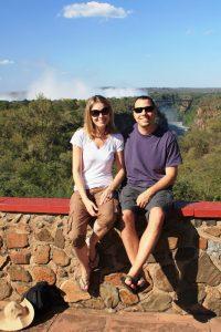 Gary Harwyn and Michelle Salater, Zimbabwe safari May 2010